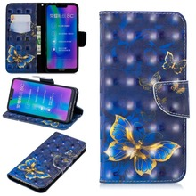 Frame 3D Leather Covers For Huawei Honor 8C Y5 Y6 Y7 2018 No