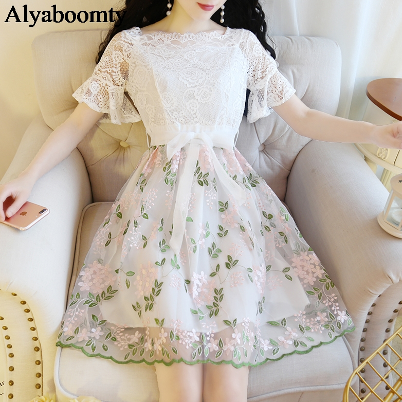 643934e442263 best top 10 white tulle lace dresses brands and get free shipping ...