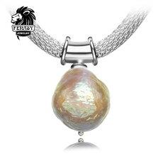 FENASY Bohemia diseño encanto collar de perlas, hombres collar de las mujeres, el uso de método Perfilado de joyería fina perla collar de la joyería
