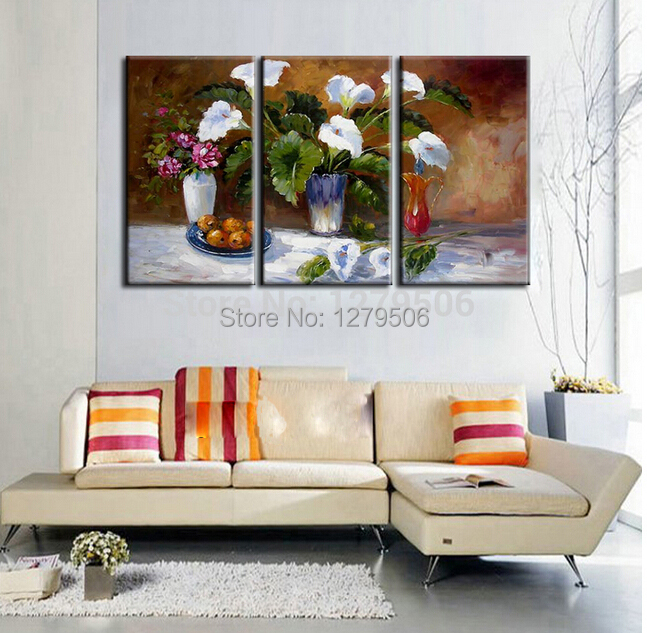 Online buy wholesale flower arrangement pictures from Painting arrangements on wall