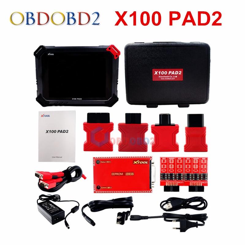все цены на XTOOL Original X100 Pad2/PAd2 Pro Auto Key Programmer with EPB EPS OBD2 Odometer OilRst TPMS X100 PAd 2 Better than X300 pro3