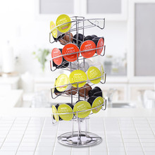 Coffee Pod Rotary Capsule Tower Rack