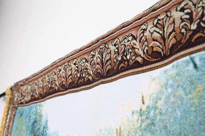 108*138 cm Belçika Sanat duvar halısı Duvar Asılı Goblen Fas Dekor Goblen Kumaş Dekoratif Duvar Halıları duvar bezi