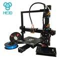 Dual E3D nozzle_auto level_large tamanho da impressão de 200*280*200 i3 prusa reprap HE3D kit impressora 3d DIY