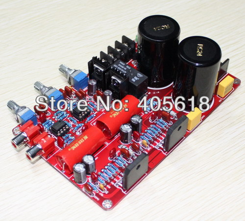 Assembled LM3886+NE5532 Power Amplifier Kit Board 68W+68W luxury Version hot sale power amp board 68w 68w lm3886 amplifier board with circuit protection