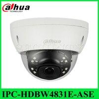 Экспресс доставка Dahua оригинальный IPC-HDBW4831E-ASE IP ИК Купольная Сетевая безопасность Камера IP67 4 К 8MP POE заменить IPC-HFW4831E-SE