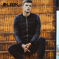 OLRIK 2016 Winter Jacket Men Cotton Coats Zipper Brand New Mens Cotton Jacket Casual Thick Outwear Size 3XL