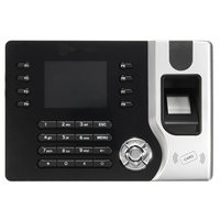 2 4inch TCP IP Fingerprint Attendance Machine Access Control Time Clock Recording System Finger Print Password