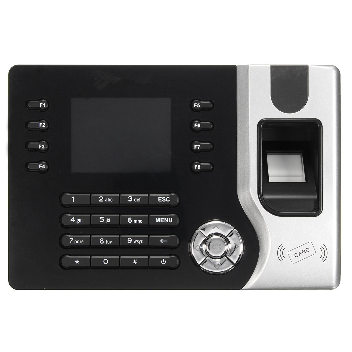 2.4inch TCP/IP Fingerprint Attendance Machine Access Control Time Clock Recording System Finger Print Password ID Card Mode 3 inch color screen m200 ic 13 56mhz smart card time attendance time recorder time clock with tcp ip