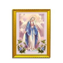 Diamond Painted 5D Diy Embroidery Religious Mosaic Pattern Rhinestone. Custom Photo Drop Shippiong