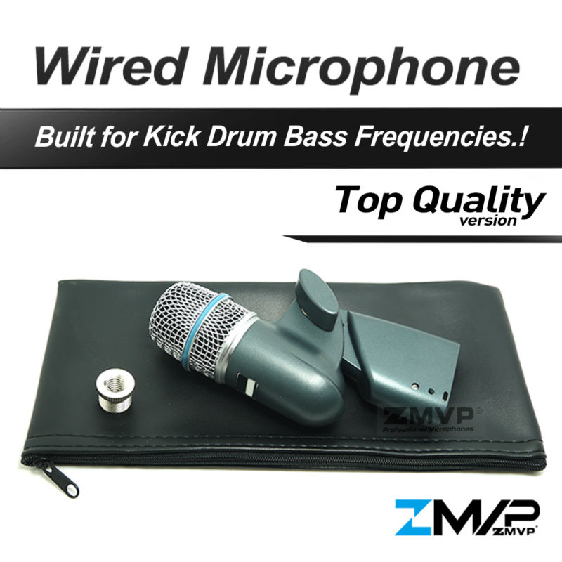 Free Shipping! B 56A Professional Bass Amp Drum Acoustic String Supercardioid Dynamic Instruments Microphone Microfone Mike Mic