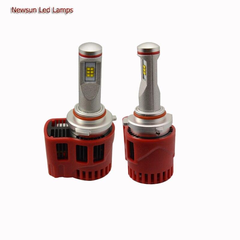 Newest Super Bright Led Headlight Kits 9005/HB3 With 12 Led Chips 12V/24V 9000Lm Adjustable High Power 9005 Led Headlight 90W
