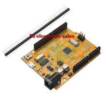 New DIY Electric Unit Module Modules 1PcUNO R3 ATmega328P CH340 Micro Mini USB Board for Compatible for Arduino Yellow