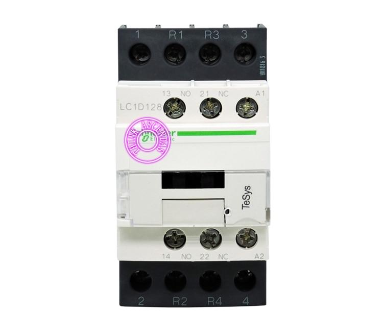 цена на TeSys D Contactor 4P LC1D128 LC1D128BD 24V / LC1D128CD 36V / LC1D128DD 96V / LC1D128ED 48V / LC1D128FD 110V DC