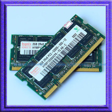 Hynix 4GB 2x2GB PC2-5300S DDR2-667 667Mhz 2gb 200pin DDR2 Laptop Memory 2G pc2 5300 667 Notebook Module SODIMM RAM Free Shipping