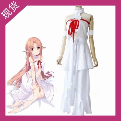 Sword Art Online Yuuki Asuna,fille Costume de cosplay anime complet uniforme