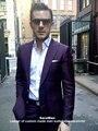 Purple Men Suit Custom Made Dark Purple Suits For Men,Tailor Made Purple Tuxedo Jacket,Purple Mens Suit,Mens Wedding Suits