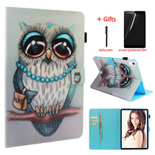 Smart PU Leather Cover Case For New ipad Pro 11 2018 Release Tablet Stand Folio Cover For ipad pro 11 inch Case + Film + Pen new kid color pretty printing buckle leather stand folio covers case for universal 10 10 1inch tablet pc