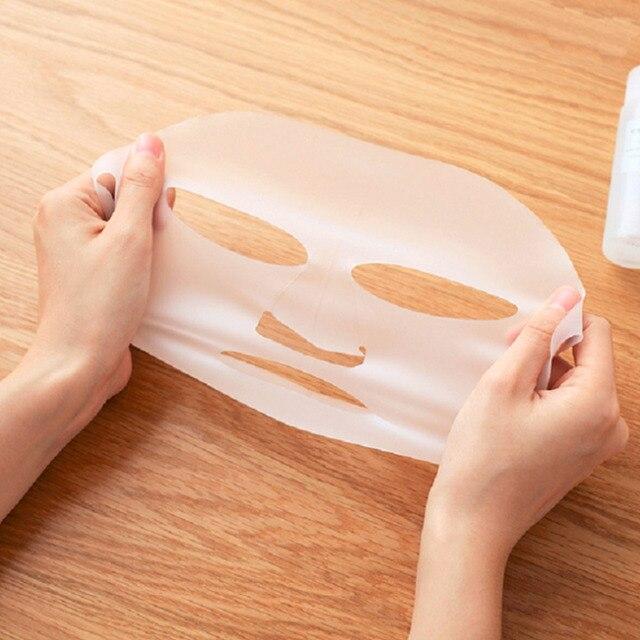 Nouvelle Arrivée Silicone Visage masque Couverture Prévenir Masque Essence L'évaporation Le Rythme D'absorption Hydratant Visage Masque Couverture 3