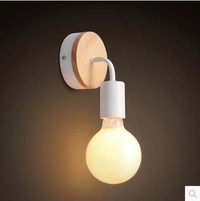 Wandleuchte Küche | Moderne Beleuchtung Holz Wandleuchte Schlafzimmer Kuche Spiegel