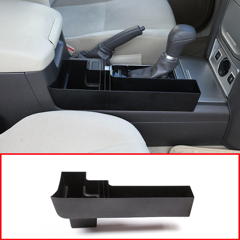 цена на For Toyota Land Cruiser Prado FJ150 150 2018 Year Plastic Car Central Console Multifunction Storage Box Phone Tray Accessory