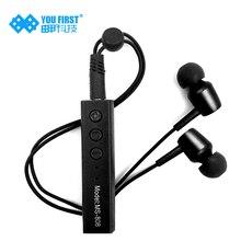 YOU FIRST Lavalier Bluetooth Headphone Module Headset With Camera Mic Bass Earphones Bluetooth Earphone Kulakl K for Xiaomi HTC