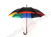parasol T handvat bloemvorm