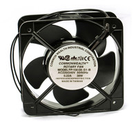 Blowers FP 108EX S1 B 150*150*50mm 50/60HZ AC 220V 38W industiral fan Double ball bearing electrical cabinet cooling fan