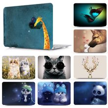 2020 Nieuwe Pro13 Leuke Patroon Laptop Hard Shell Case Cover Voor Apple Macbook Air 11 Air 13 Pro Retina Touch bar 12 13 15 16 Inchs(China)