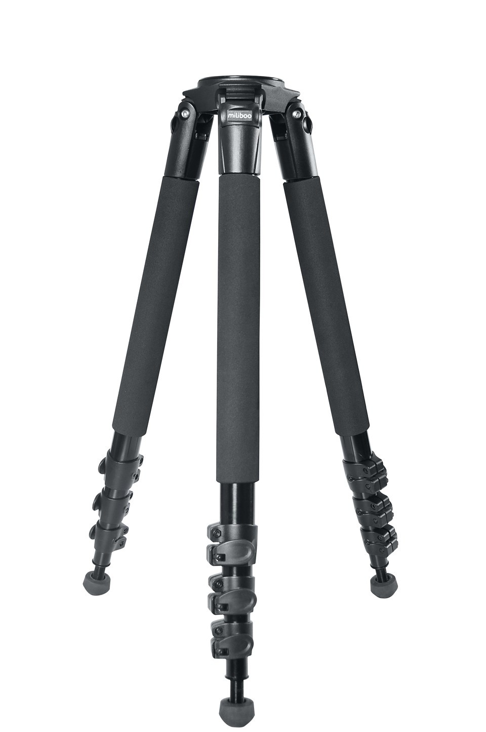 miliboo MTT702A (Without head) SLR Camera Bracket Aluminium Tripod for Professional Camcorder/Video Camera/DSLR Stand aluminium alloy professional camera tripod flexible dslr video monopod for photography with head suitable for 65mm bowl size