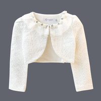 Spring Autumn Girl Baby Jacket For Girls Clothes Weddings 2018 Dresses Coat For Baby Girls Outerwear Cardigan Spring Longsleeve