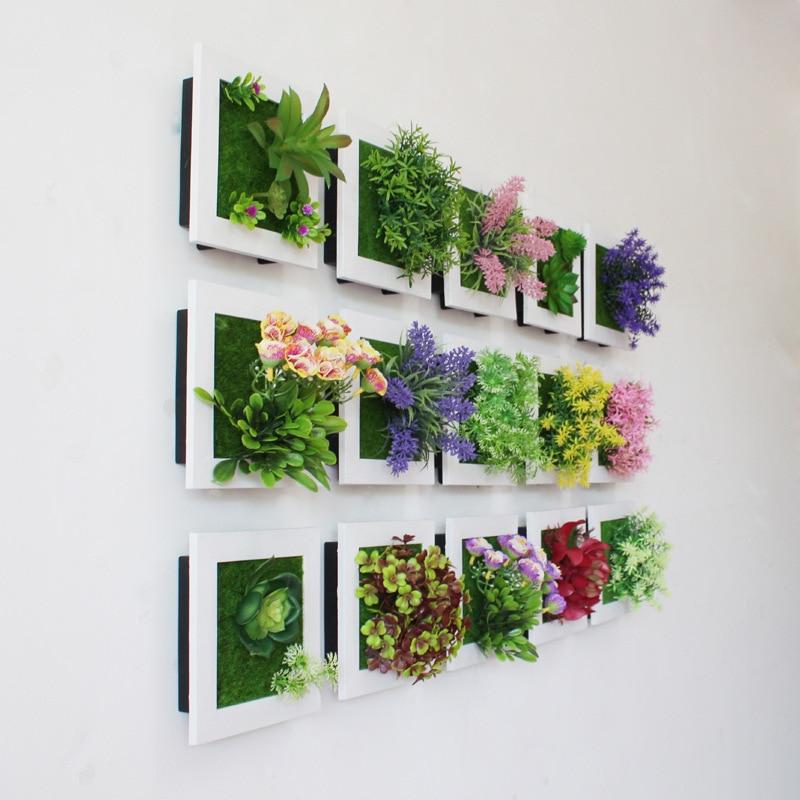 Creative 3d Artificial Plants Home Wall Sticker