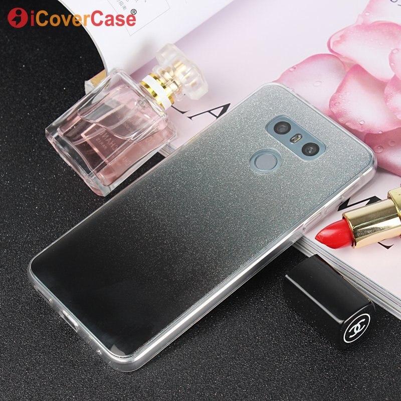Мобильный чехол для LG G6 H870 H870DS G 6 крышка ультра тонкий силиконовый блеск блестящий Blingbling ТПУ спина кожи гель телефон сумка Etui Coque
