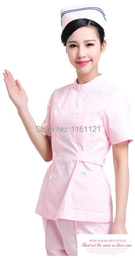Lab Coat Womens New Anti-wrinkle free Ironing Long Sleeve Nurse Uniform Two Pieces Clothes Set for Hospital ,medical Clothing