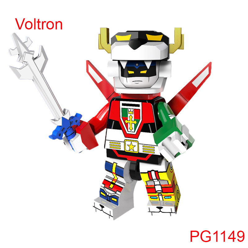 Voltron Super Heroes The God Of War King Kong Voltron Team Godmars Defender Of The Universe Building Blocks Kid Toys Pg1149 уэллс г д the war of the worlds книга на англ яз