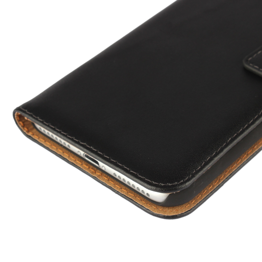 New 6S/6S Plus Shell Flip Genuine Leather Wallet Card Slots Case Cover For iPhone 5 5C 5S SE 6 6S 4.7For iPhone 7 7 Plus Bag