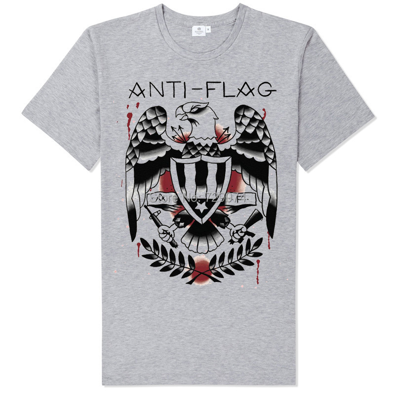 EAGLE LOGO ANTI FLAG the Clash ramones burn the flag rock t shirt soft comfortable good quality tee brand new