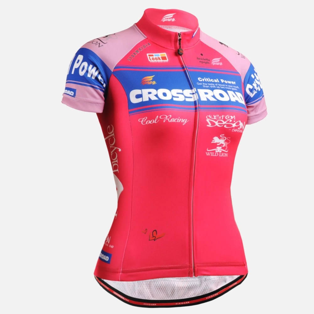 ФОТО Women Cycling Jersey Short Sleeve shirt Breathable Quick Dry 3D Print Ropa Ciclismo Bike Compression Skinny Cycling Clothing