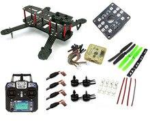 RC plane Carbon Fiber Mini QAV250 C250 Quadcopter Frame Motor 12A Esc CC3D Flight Control-A011