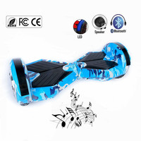 USA Germany Stock 2 Wheels 8 Inch Self Balancing Bleutooth Hoverboard Electric Scooter Oxboard Skateboard Balance