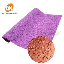 New Fondant Mould Lace Mat Leaves Impression Mats Silicone Lace Mat Cake Lace Mold Silicone Sugar Lace Mat Decorative