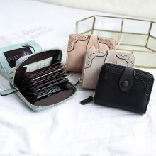 Fashion Women Leather Small Wallet (6 colors)