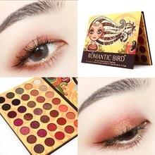Makeup Eyeshadow Palette 35 Color Matte Pigment Glitter Shimmer Pallete