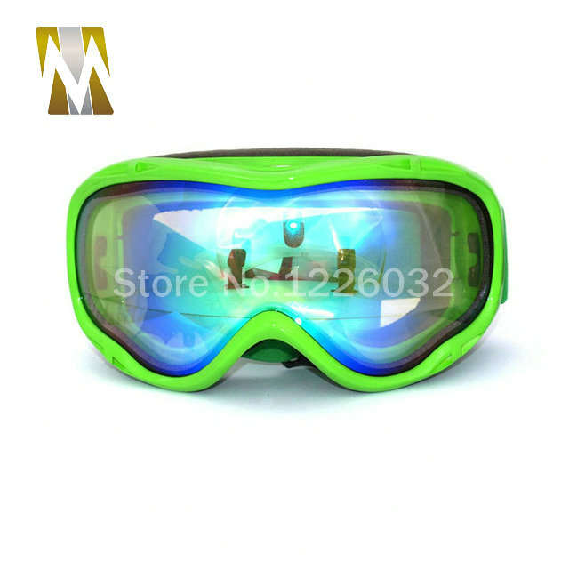 b33d8748b06 Online Shop Green Frame ski goggles motocross google dual lenses uv400  goggles anti-fog snow skiing glasses snowboard google eyewear