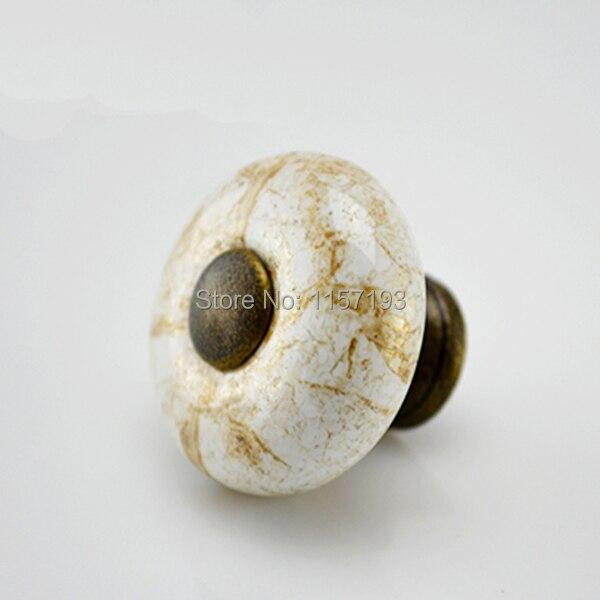 Venda quente rodada de m rmore rachaduras cer mica puxador de uma gaveta do arm rio de banheiro - Pomelli ceramica per cucina ...