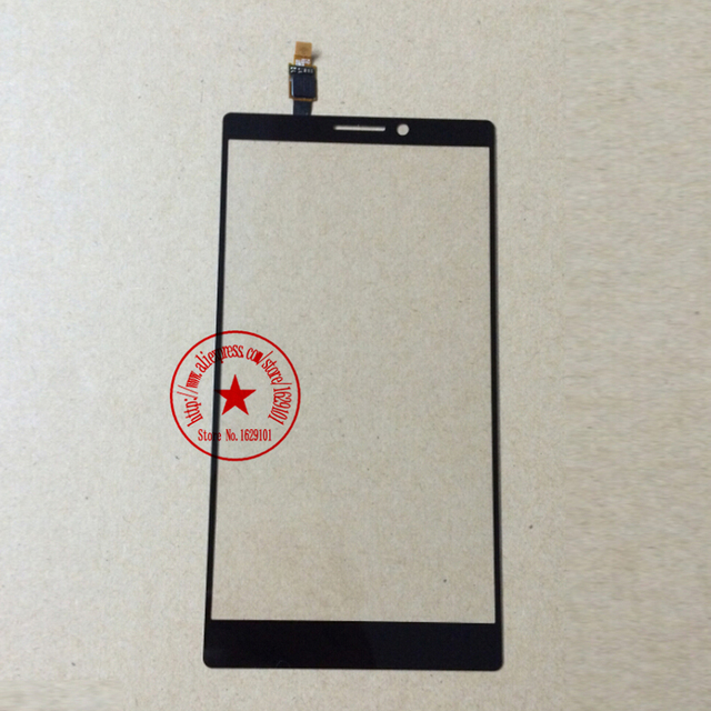 Top Quality Front Glass K920 Touch Screen Digitizer For Lenovo Vibe Z2 pro k920 Cell Phone Panel Replacement Parts Black
