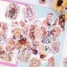 """Модель 190 года наклейка для девочек и в стиле """"Лолита"""""""