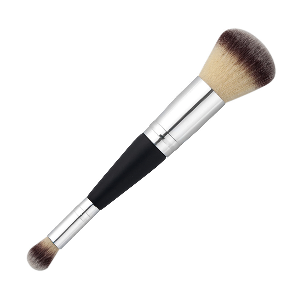 Double Ends Eye Shadow Blush Brush Cosmetics
