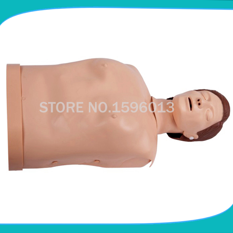 Half body CPR training manikin/CPR training manikin for emergency study whole body basic cpr manikin style 200 male female nursing manikin