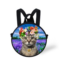 Mochila infantil Escolar Mini Children School bags Cute 3D Animal Cat Little Girls Schoolbag Casual Kids Kindergarten Book Bag